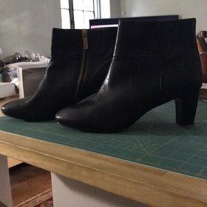 Taryn rose black booties